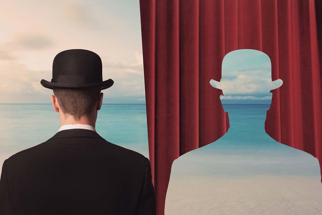 Magritte r blinger - Magritte uomo allo specchio ...